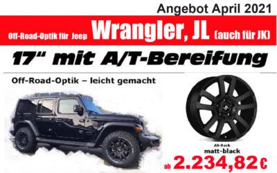 JEEP Wrangler Off-Road-Optik