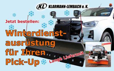 Winterdienstausrüstung